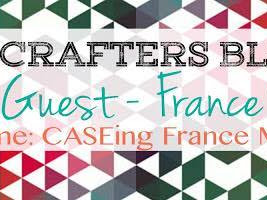 Crazy Crafter's Blog Hop with France Martin