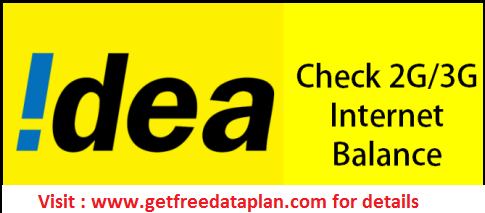 How to check IDEA USSD Codes for 2G / 3G / GPRS / 4G LTE
