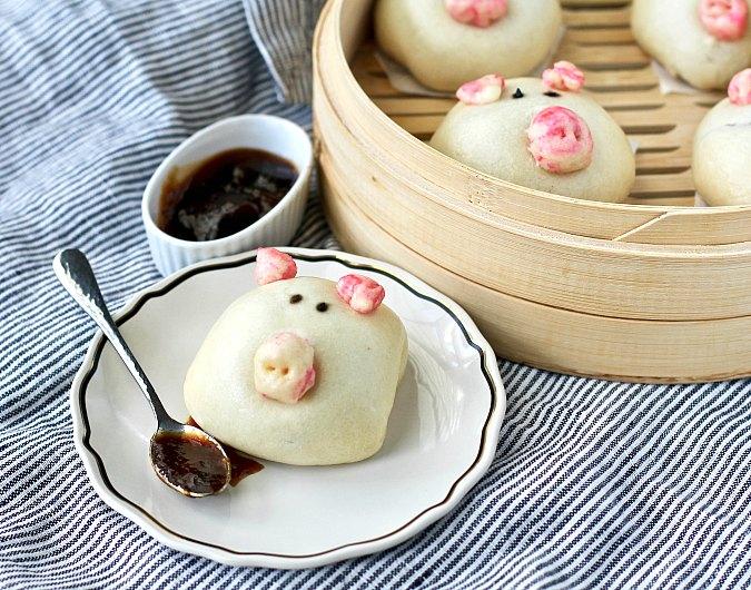 Dim Sum Piggy Buns