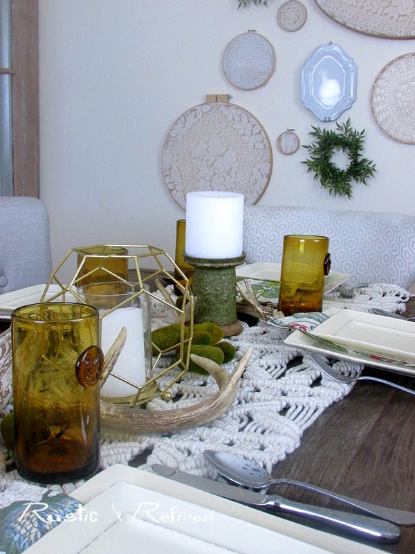 Bohemian Design Tablescape