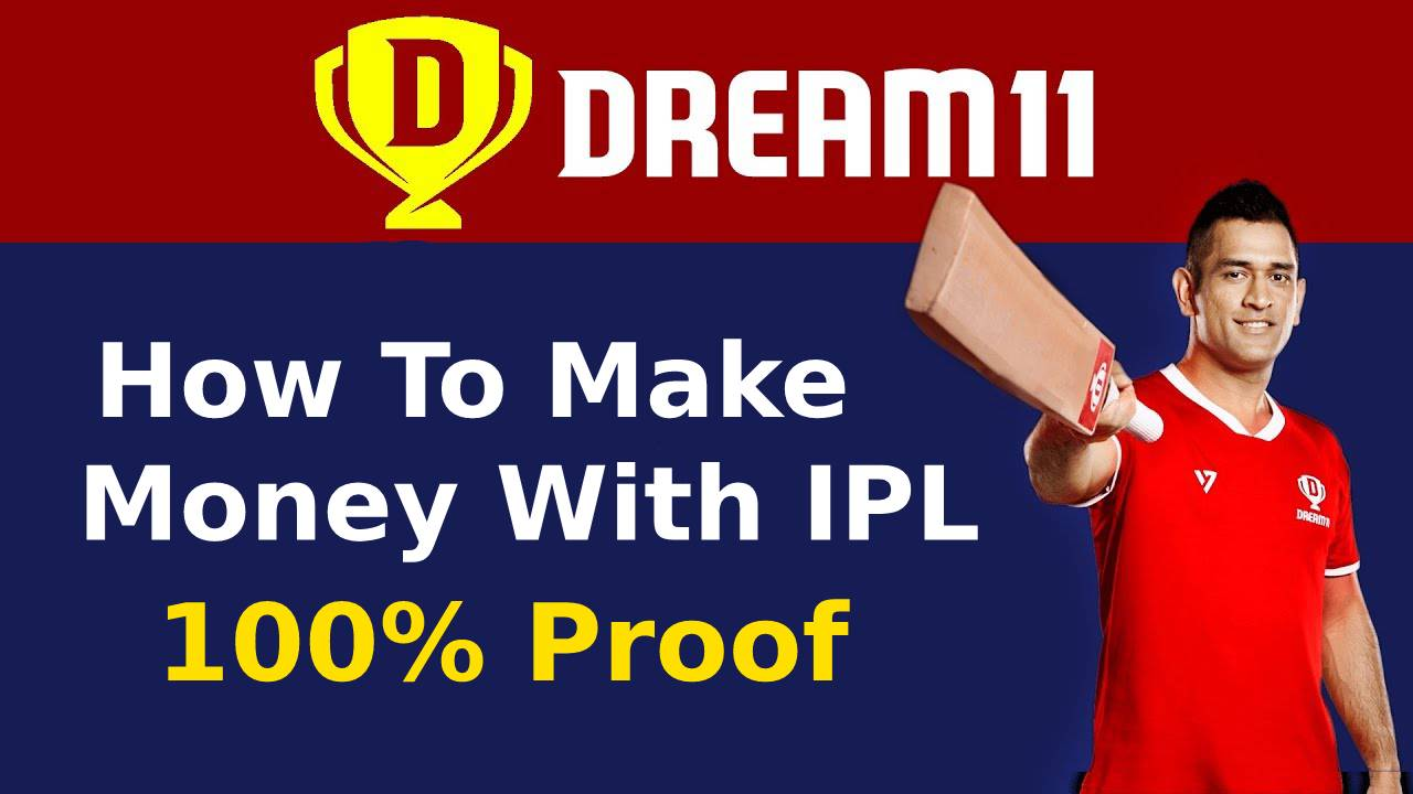 How To Make Money With IPL DREAM11 – Get Free ₹100/Signup + ₹100/Refer | Proof