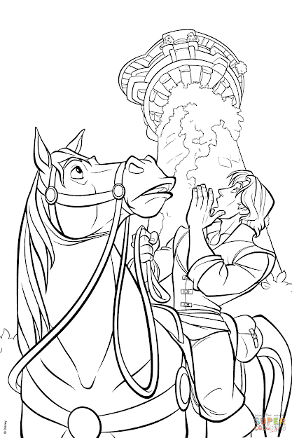 Click The Maximus And Flynn Coloring Pages To View Printable Version Or  Color It Online Patible With Ipad And Android Tablets