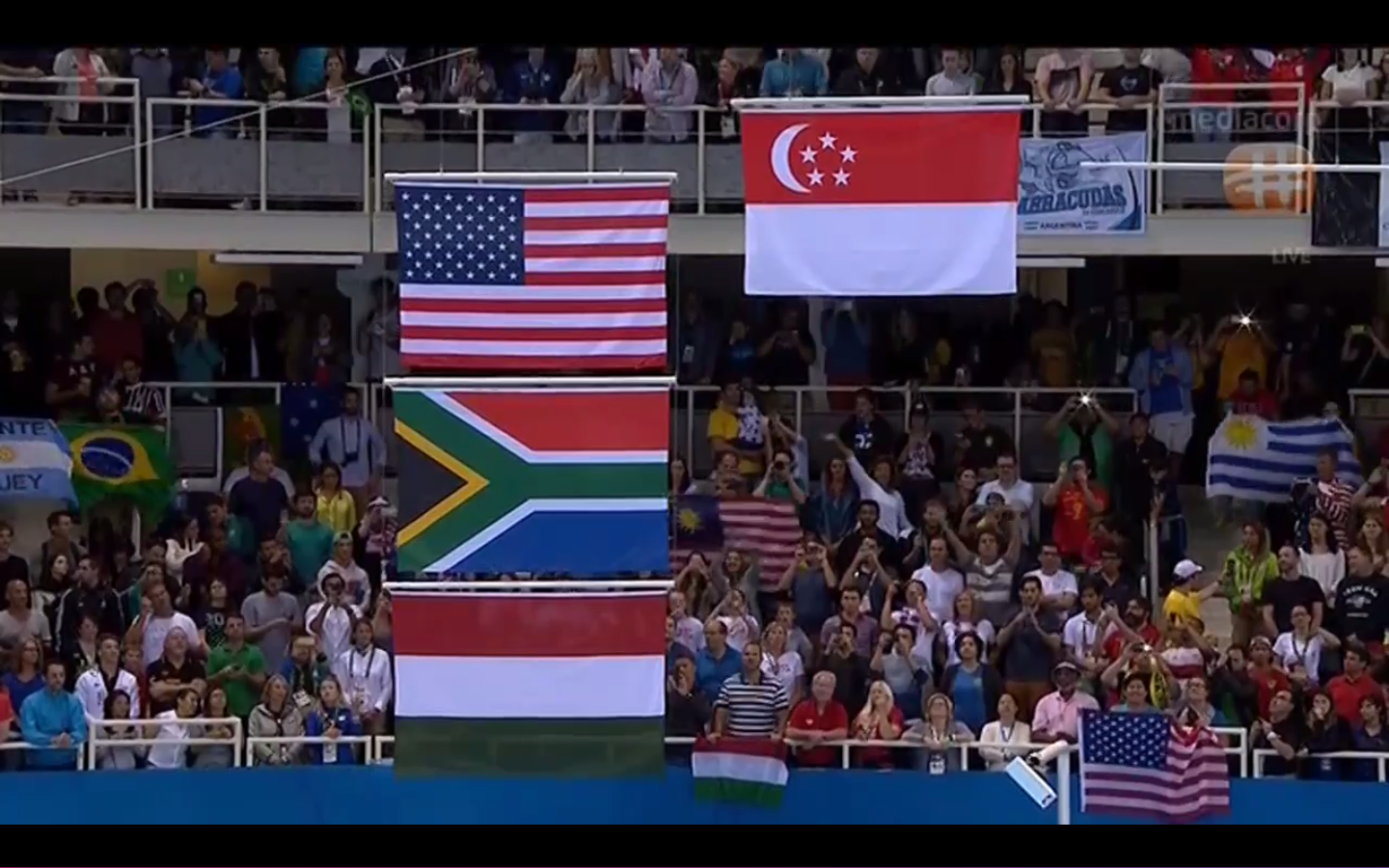 A new moment in Singapore's history being created in front of our very eyes.