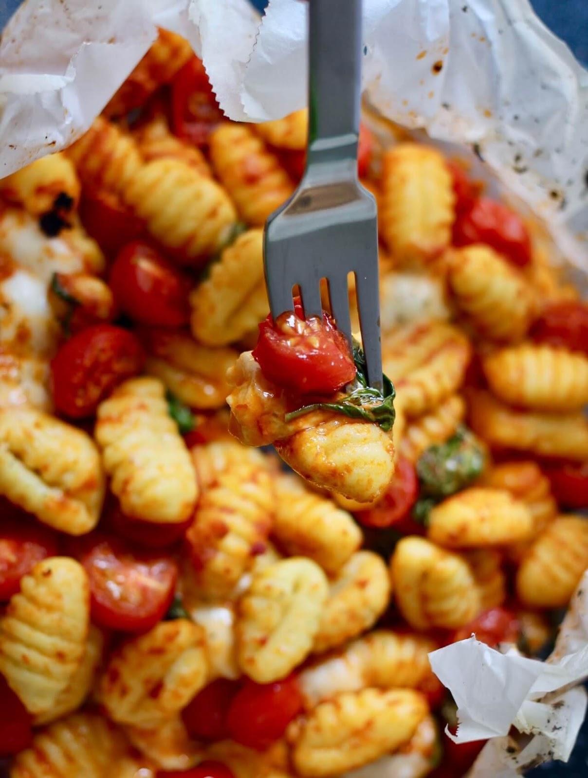 Gnocchi Caprese aus dem Backofen