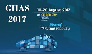 Tiket masuk GIIAS 2017