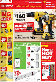 Home Hardware Flyer for Christmas Catalogue 2017 Dec 5 – 11, 2018