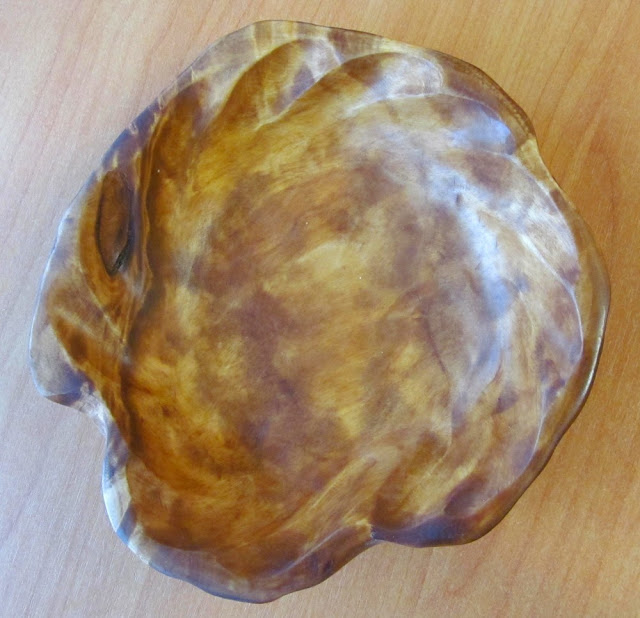конфетница из березового сувеля