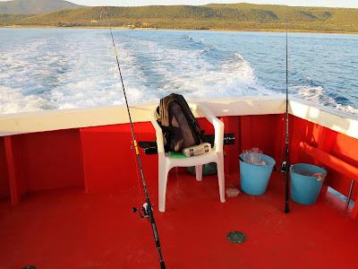 23 settembre 2017 - Una pescata in barca di fronte alle isole Tremiti