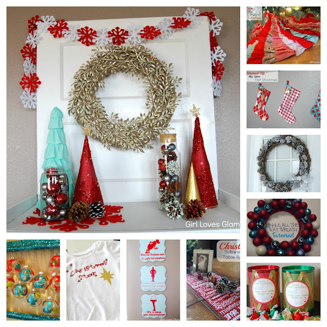 Girl Loves Glam Christmas Winter Projects