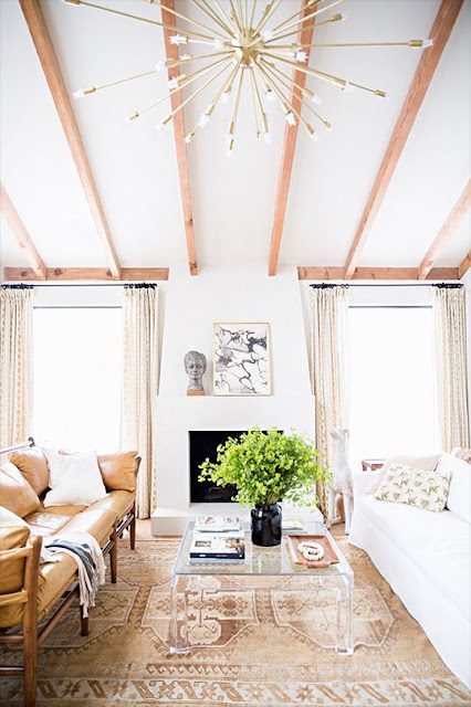 wood beams painted beams living room