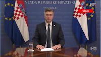 Obraćanje predsjednika Vlade RH Andrej Plenković koronavirus slike otok Brač Online