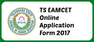TS Eamcet 2017 Online Application Form