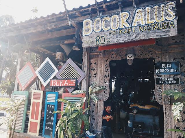 Kafe 80s Bocor Alus - What to Visit in Yogyakarta