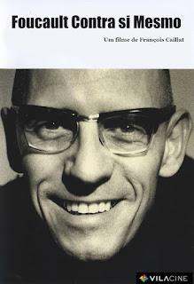 """Poster do filme """"Foucault Contra Si Mesmo"""""""