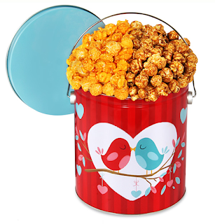 His & Hers Popcorn Tin