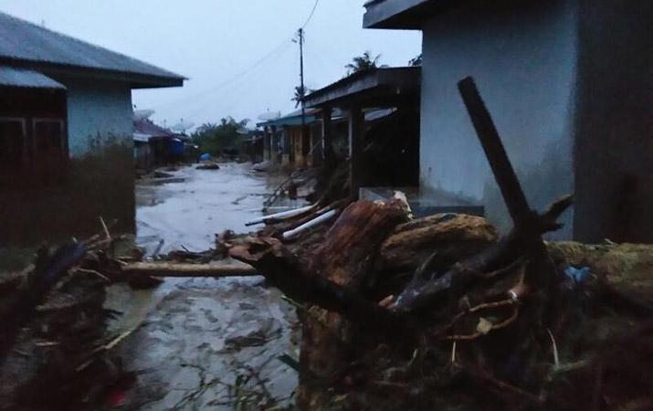 Aceh Di Landa Banjir Bandang