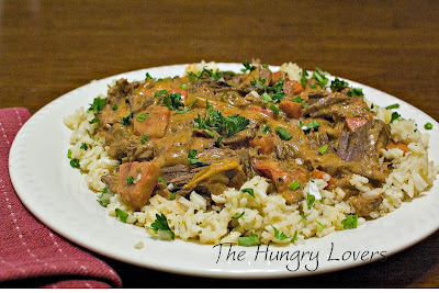 Pot Roast Paprikash and Hungarian Pilaf