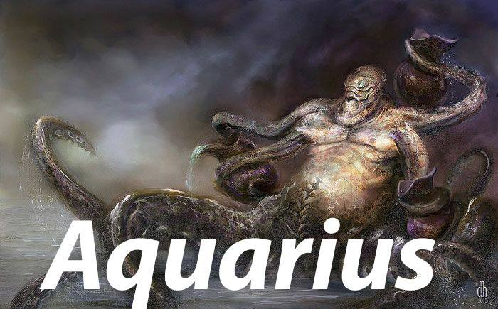 zodiac, horoscope, aquarius