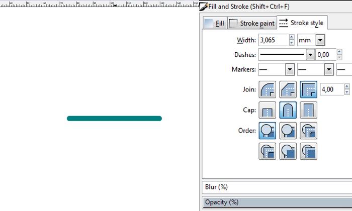 Memotong (Cut Path) Stroke di Inkscape