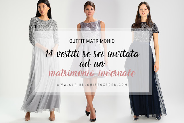Outfit matrimonio Inverno 2017/2018: 14 vestiti invitata matrimonio