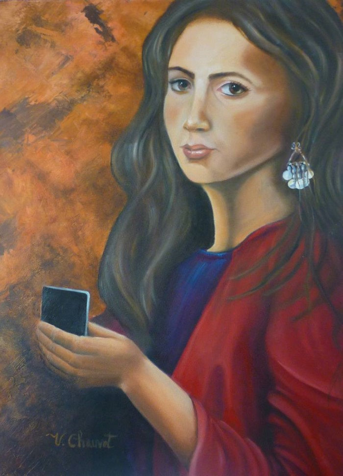 Мексиканский художник. Veronica Chauvet