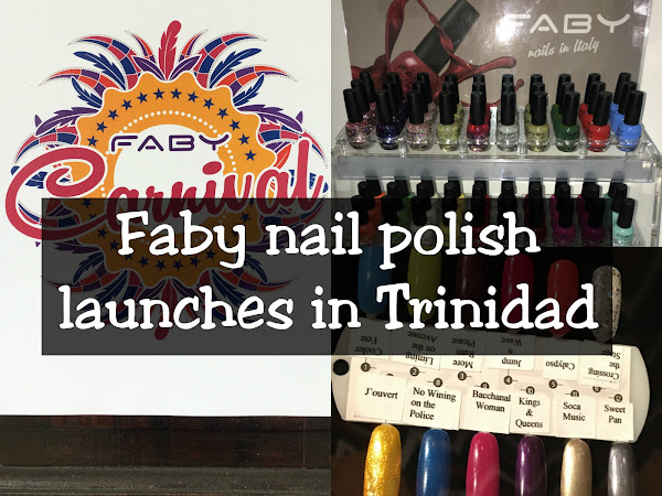 Faby nail polish launches in Trinidad