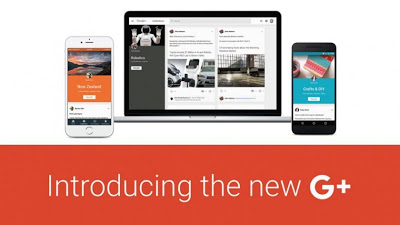 جوجل تطلق تصميما جديدا لموقعها للتواصل الاجتماعي