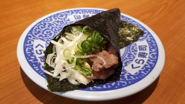 鮭魚肉末手卷