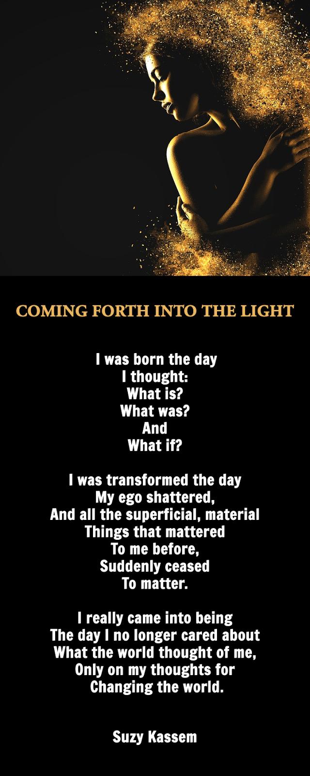 Awakening poem life