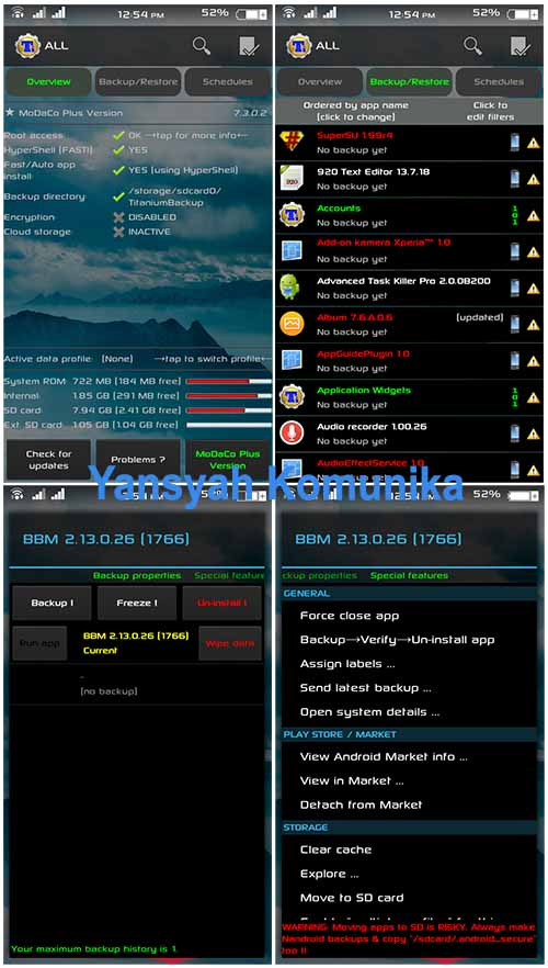Titanium Backup Pro V7.3.0.2 Apk Terbaru