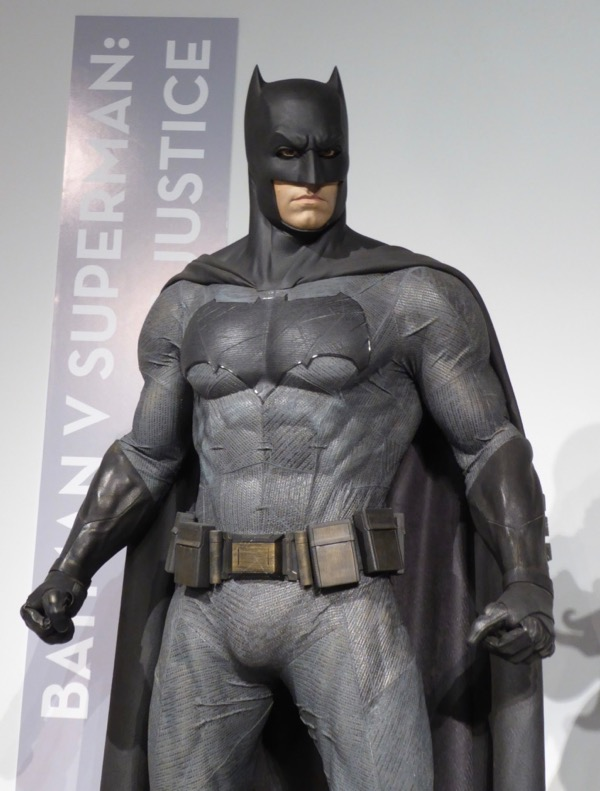 Ben Affleck Dawn of Justice Batman film costume