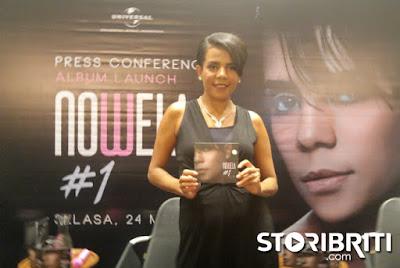 Perjalanan panjang Nowela si putri Papua, Luncurkan Album Perdana