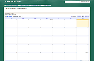 Crear Calendarios con Google Sites