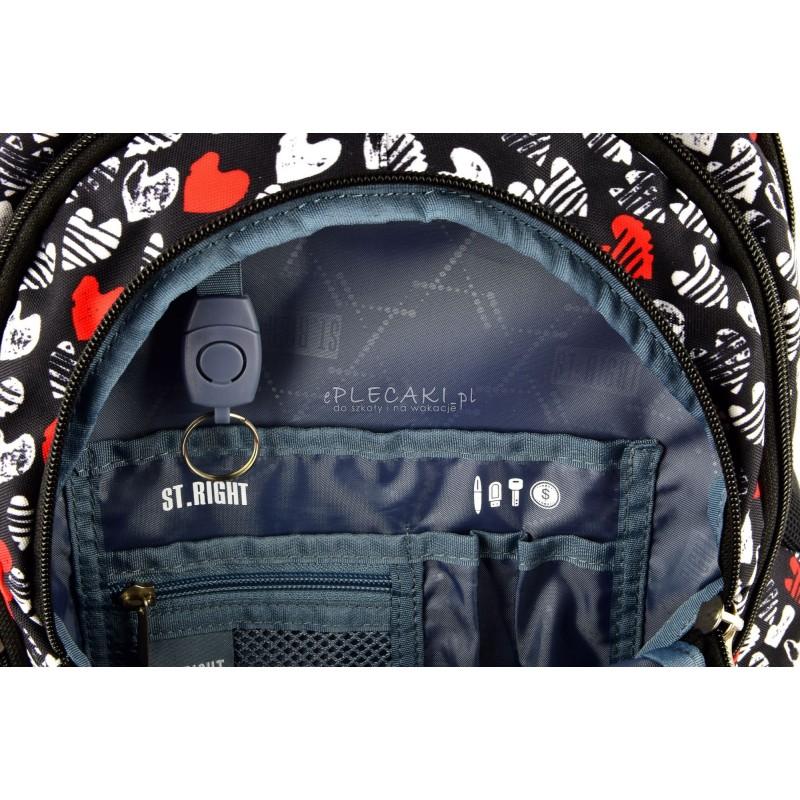 231df841c2cb Przy jego projektowaniu wykorzystano najnowsze treny w modzie miejskiej dla  nastolatków. Plecak ten posiada