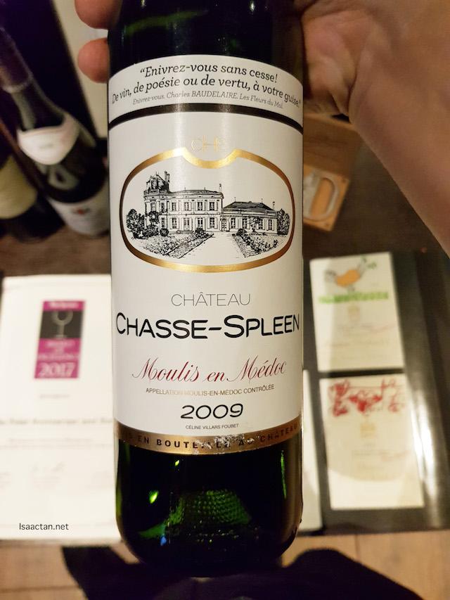 Château Chasse-Spleen 2009