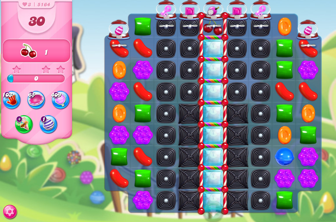 Candy Crush Saga level 5164