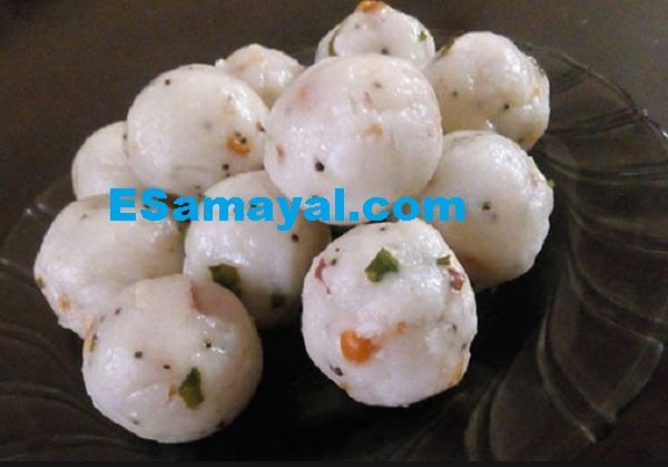 ரவை வெஜிடபிள் உருண்டை செய்முறை | Ravai Vegetable Urundai Recipe !