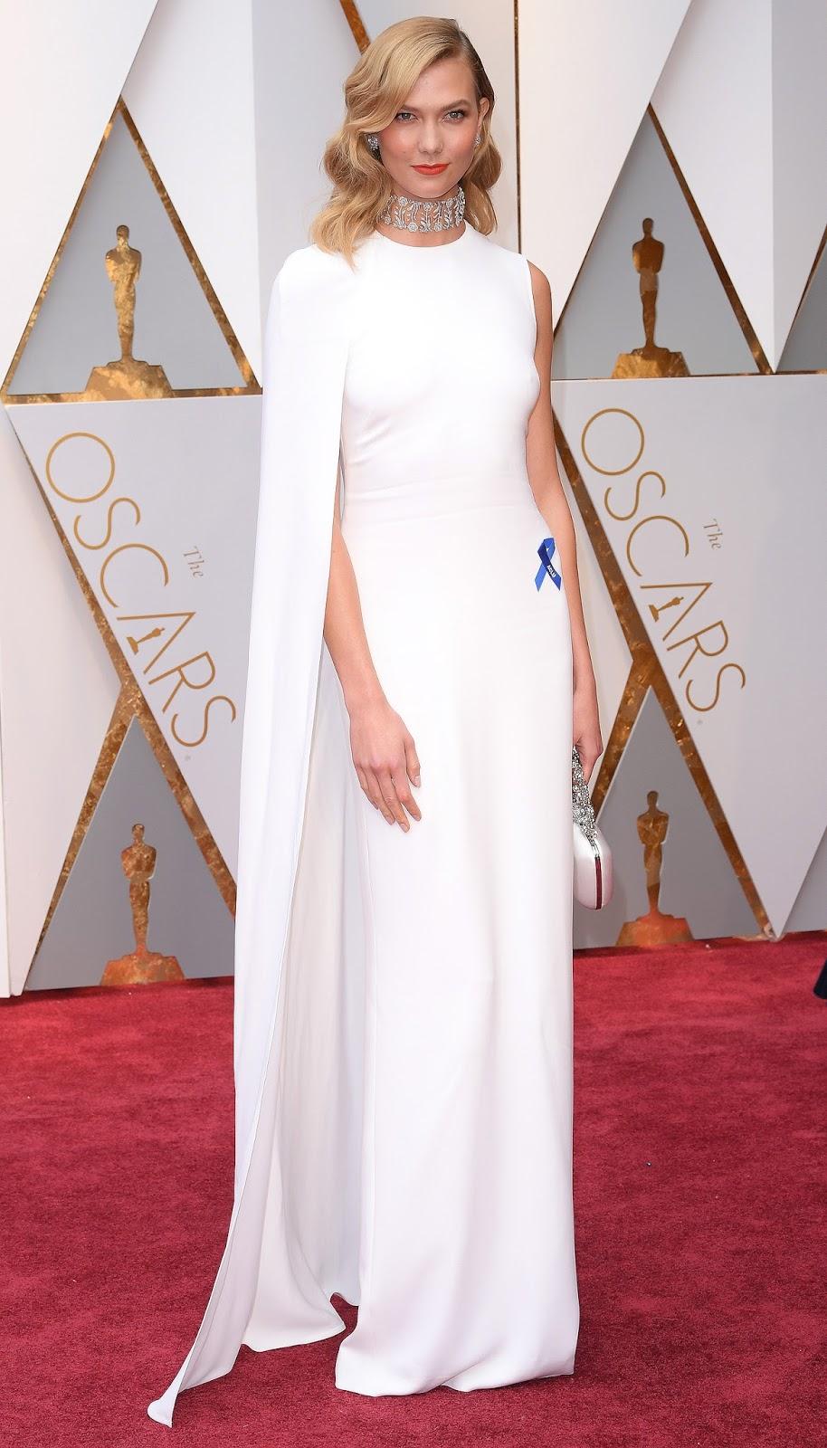 Karlie Kloss - Stella McCartney Oscars 2017