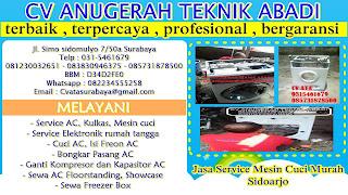 Jasa Service Mesin Cuci Murah Sidoarjo