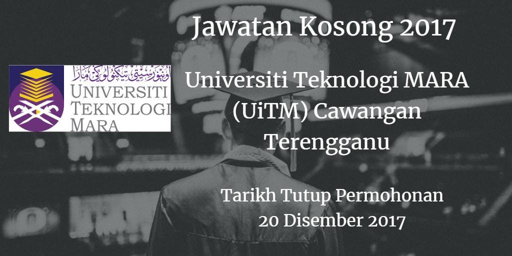 Jawatan Kosong UiTM Cawangan Terengganu 20 Disember 2017
