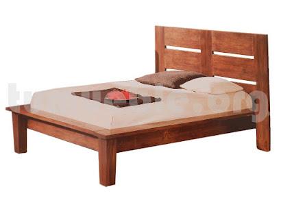 cama madera teca 4012