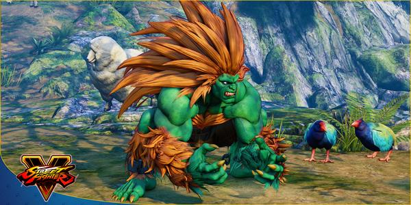 Blanka, el guerrero del Amazonas, llega a Street Fighter® V: Arcade Edition