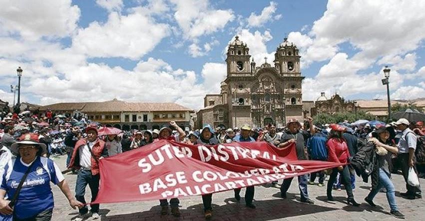 SUTEP anuncia huelga indefinida este 15 de Junio, Exigen incremento de sueldo