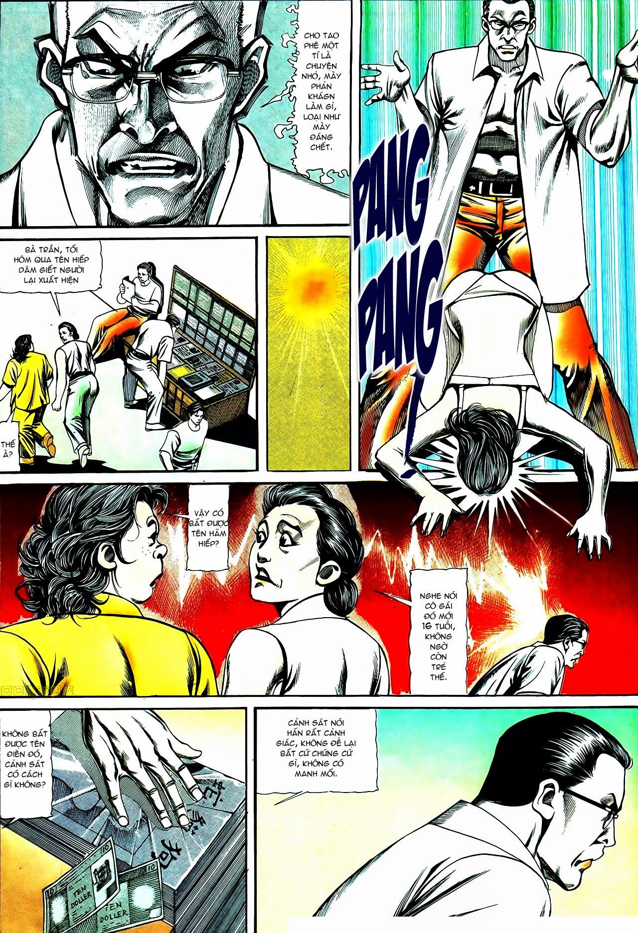 Người Trong Giang Hồ chapter 120: sắc ma đồn môn trang 22