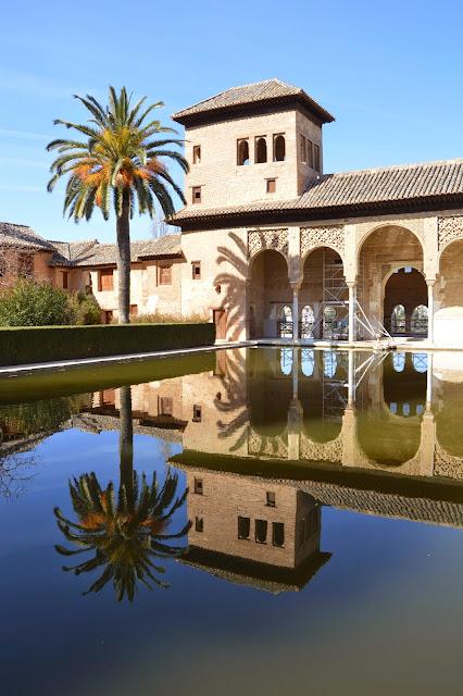 Alhambra Granada - Palacio del Partal