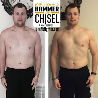 Hammer and Chisel Male Results, Hammer and Chisel results, new shakeology flavor