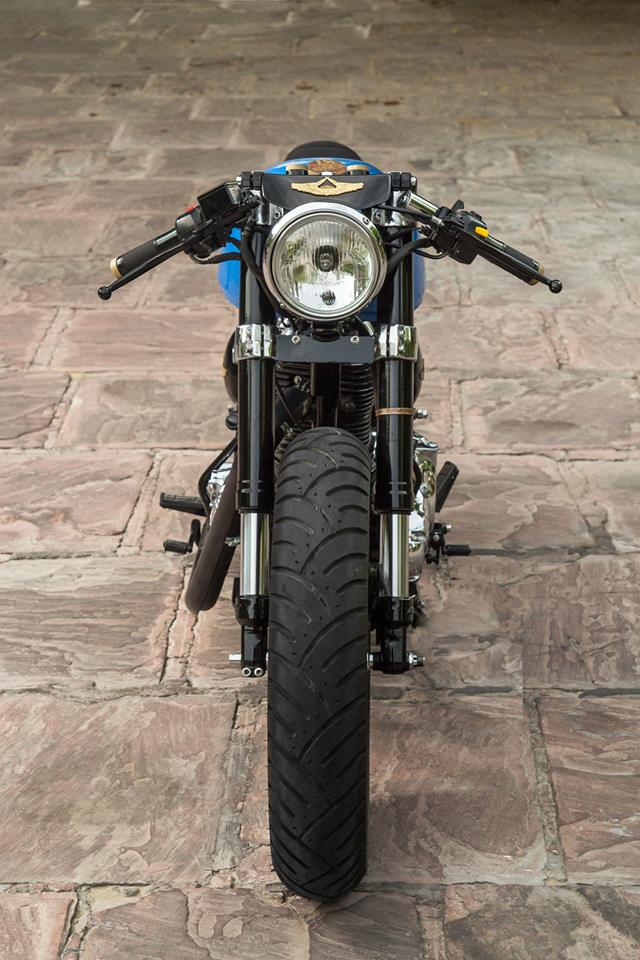 Royal Enfield Bullet Café Racer by Rajputana Customs