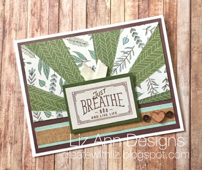 Fresh Air Sunburst Card and Instructions