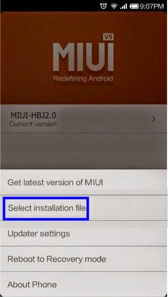 Cara Flash MIUI ROM Xiaomi Redmi 1S - Repairs Ponsel