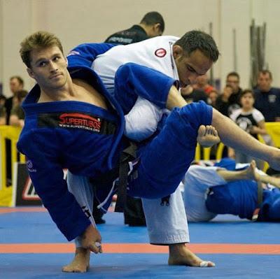 Karate lustige Sport Bilder - Entspannung